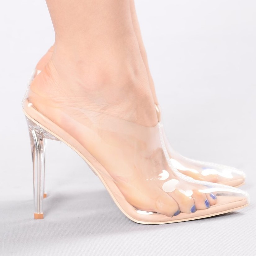 c1bb0d1c626 Beware the clear heel trend! Doctor warns Kim Kardashian s favorite new  shoes put you at  serious risk  of blisters and chronic foot odor